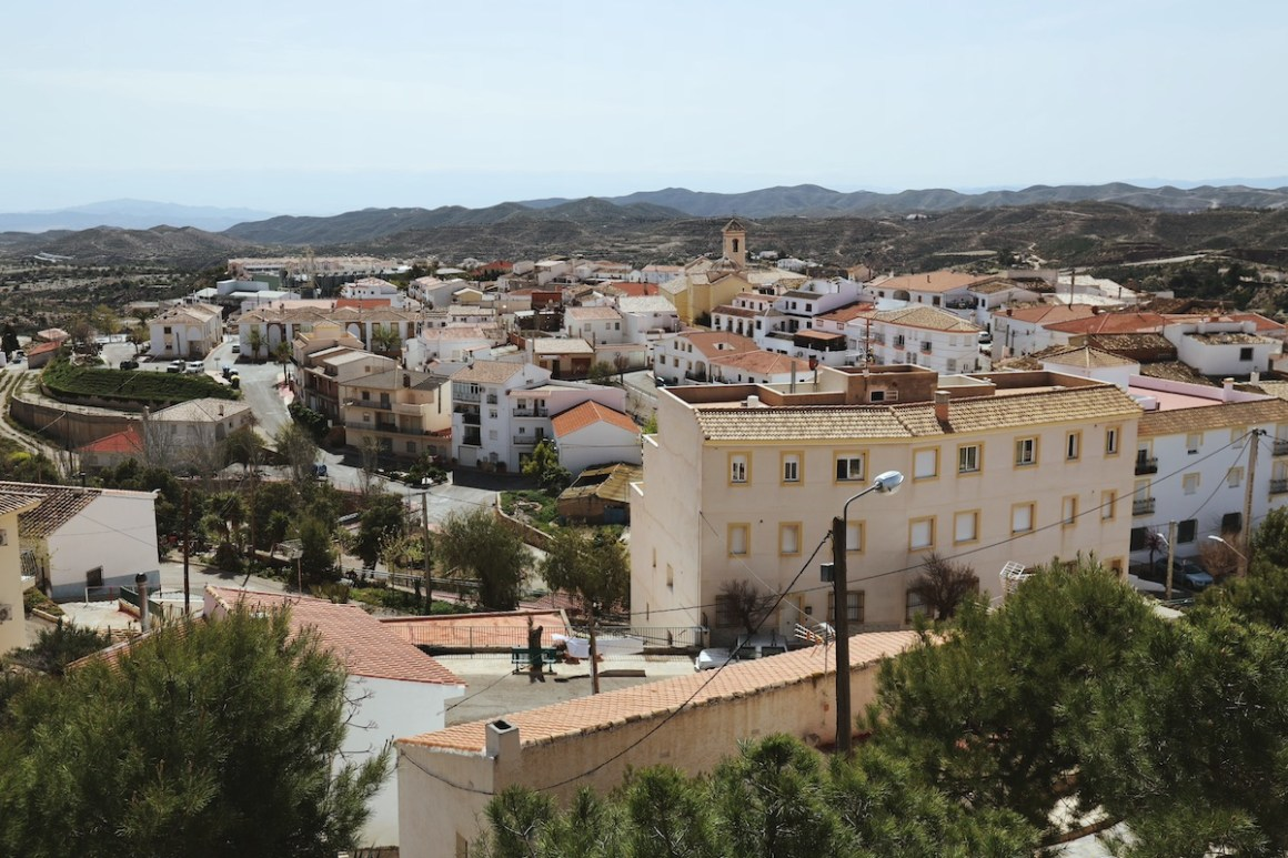 Pueblo Taberno, Almería.