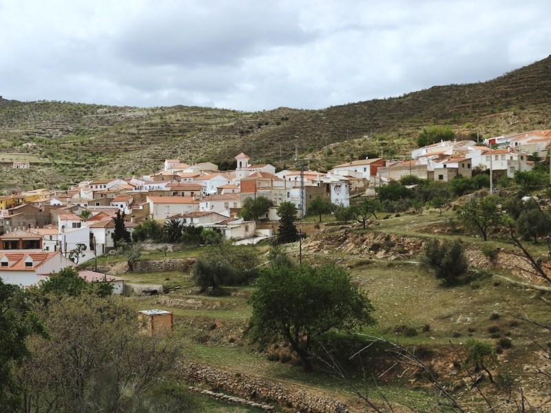 Pueblo de Benizalón, Almería.