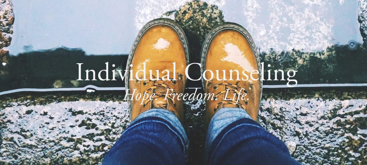 Individual Therapy/ Family/ and Couples Counseling