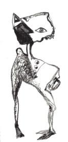 """""""chacteur"""" - litographie"""