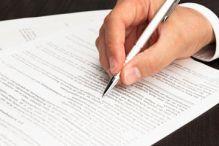Write agreement