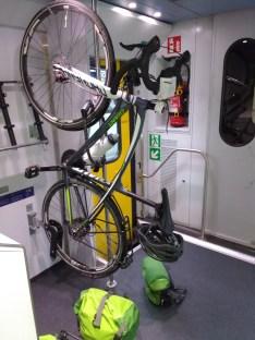 Im Zug nach St. Gallen