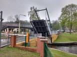 Zugbrücke geht auf