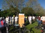 ADFC-Kundgebung im Petuelpark