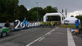 Beginn der Ringparade