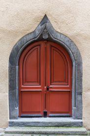 Kirchentür in Chur (CH)