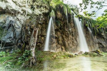 Wasserfall in Langzeitbelichtung