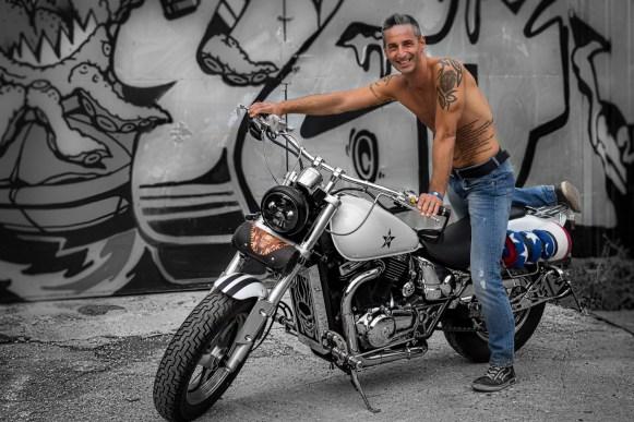 """""""Cool Guy 2"""" Fotoshooting Kunstpark Ost"""