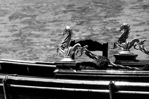 #Detailaufnahme einer #Gondel in #Venedig