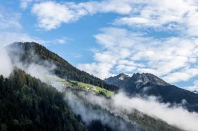 Morning Scene in Ahrntal (South-Tirol)