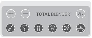 Total-Blender-Bedienfeld