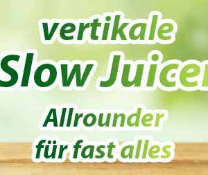 vertikale Slow Juicer