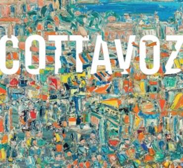 """Exposition, COTTAVOZ """"La palette, la toile et moi"""" Sainte-Foy-Les-Lyon 2016"""