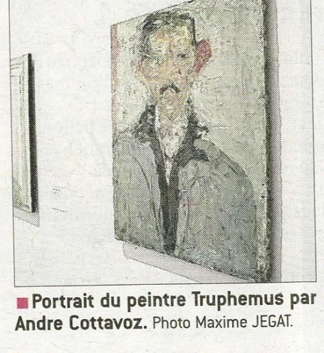 Portrait of the Painter Truphemus, performed by André COTTAVOZ