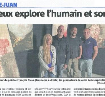 François Rieux explore l'humain et son existence