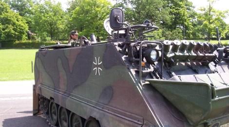 Nachgefragt: Panzer-Ralley durch das Havelland verursachte 540.000 Euro Schaden