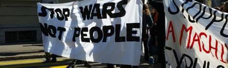 Tag 2 in Genf: Treffen mit Aktivistinnen in der Flüchtlingsarbeit und Bleiberechtsdemo