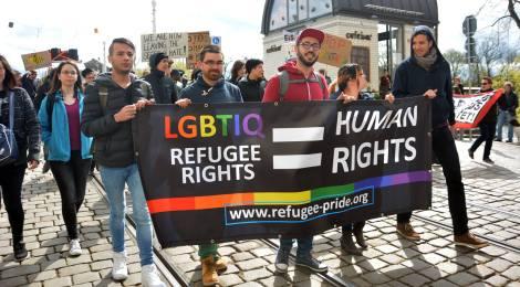 Geflüchtete und UnterstützerInnen aus ganz Deutschland kamen in Brandenburg an der Havel zusammen