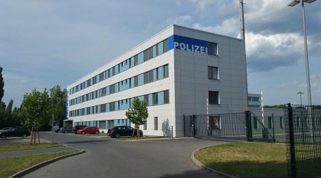 Besuch bei der Polizeidirektion Süd in Cottbus