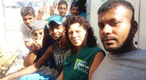 Johlige fragt... Viola Weinert zu ihrem Aufenthalt in Flüchtlingscamps auf Lesbos