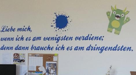 Besuch in Einrichtung für unbegleitete minderjährige Flüchtlinge in Luckenwalde