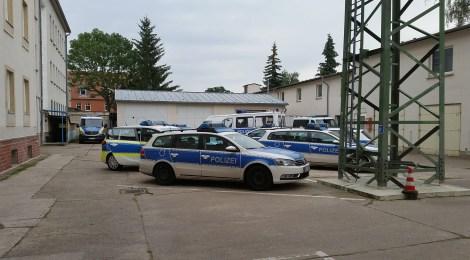Eine Nachtschicht mit der Polizei im Havelland
