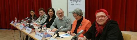 Diskussionsrunde der Friedrich-Ebert-Stiftung zum Integrationskonzept der Landesregierung