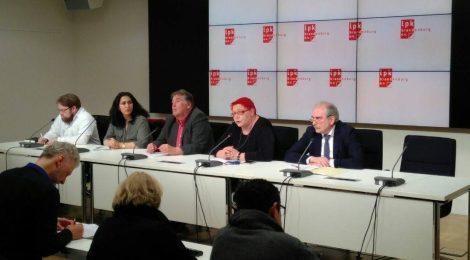 Landespressekonferenz zur Situation in Afrin und zum Aufnahmeprogramm für Yezidinnen in Brandenburg