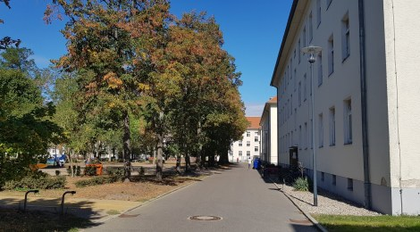 Besuch in der Erstaufnahmeeinrichtung in Wünsdorf