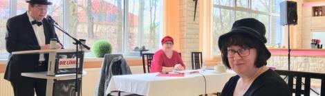 Kreisparteitag der LINKEN Havelland - Theaterstück zu 100 Jahre Frauenwahlrecht und Beschluss des Wahlprogramms