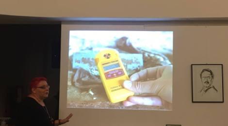 Vortrag über die Sperrzone von Tschernobyl bei der LINKEN Reinickendorf