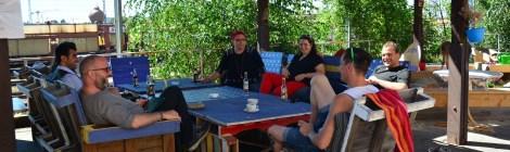 Sommer, Sonne, Sommertour... Unterwegs in Cottbus: Opferperspektive, Prima Wetter und Energie Cottbus