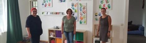 Sommer, Sonne, Sommertour... im Havelland: Landfrauen, Nauener Tafel, Familiencafé Rathenow und Künstler Frantek Riedel