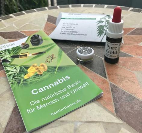 Cannabis, Pure Gold, Hanf Salve, Kannaway,Hanfinitiative