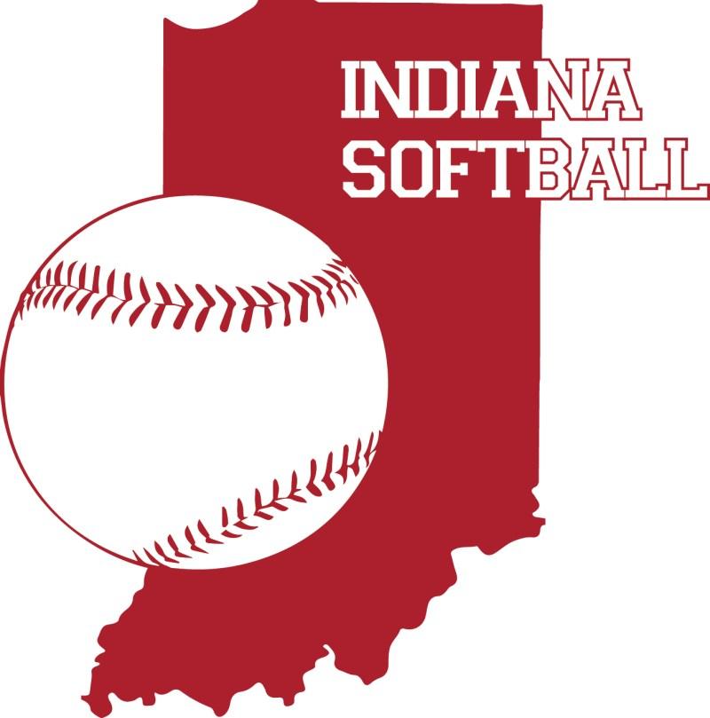 Indiana Softball logo