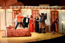 photo from production of Lend Me a Tenor