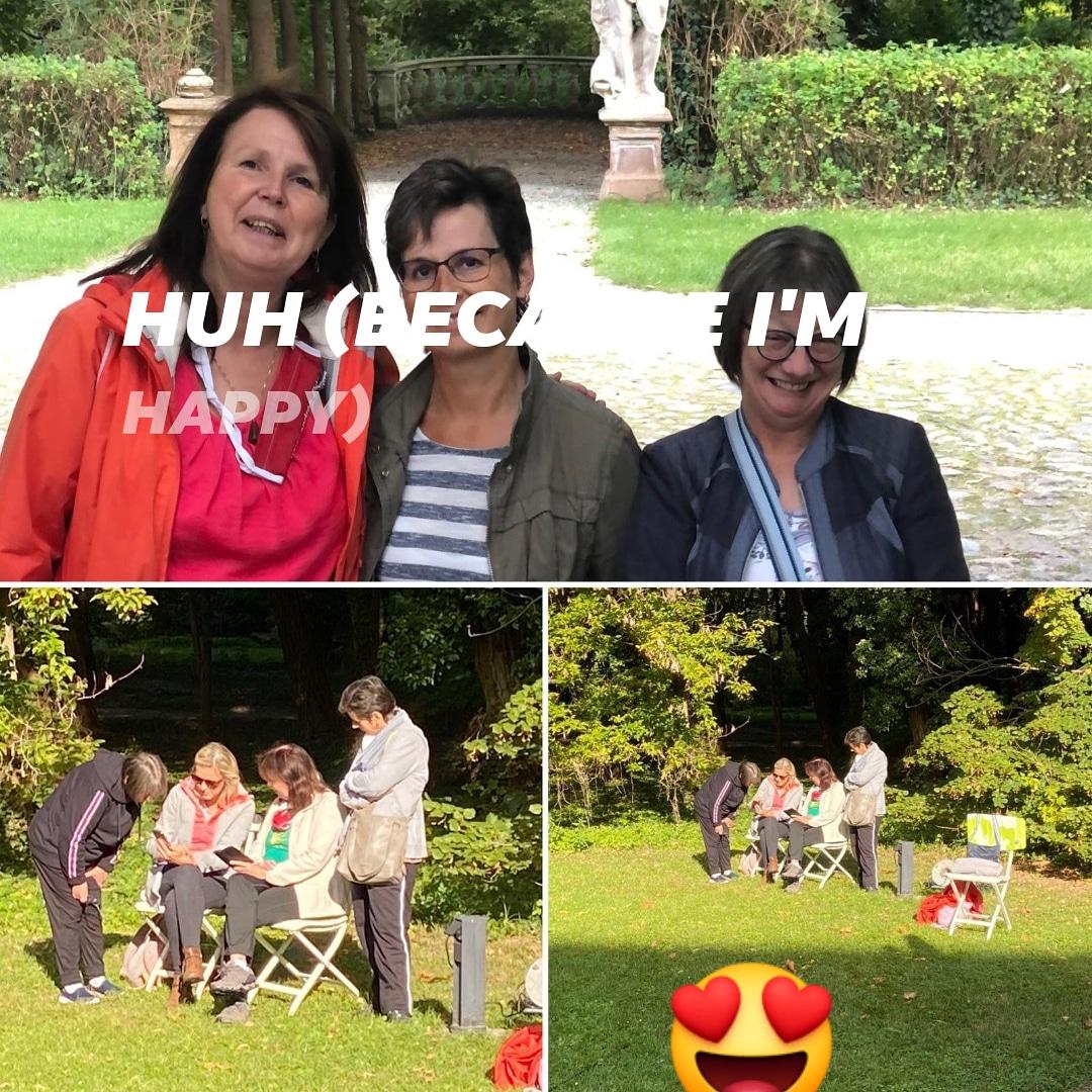 Tag 177, 178, 179, 180, Coronakrise, Gesundheitstagung 2020 im Schloss Blankensee, Besuch im Kuchengarten