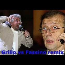 Beppe Grillo vs Fassino remix mi piacque su YouTube