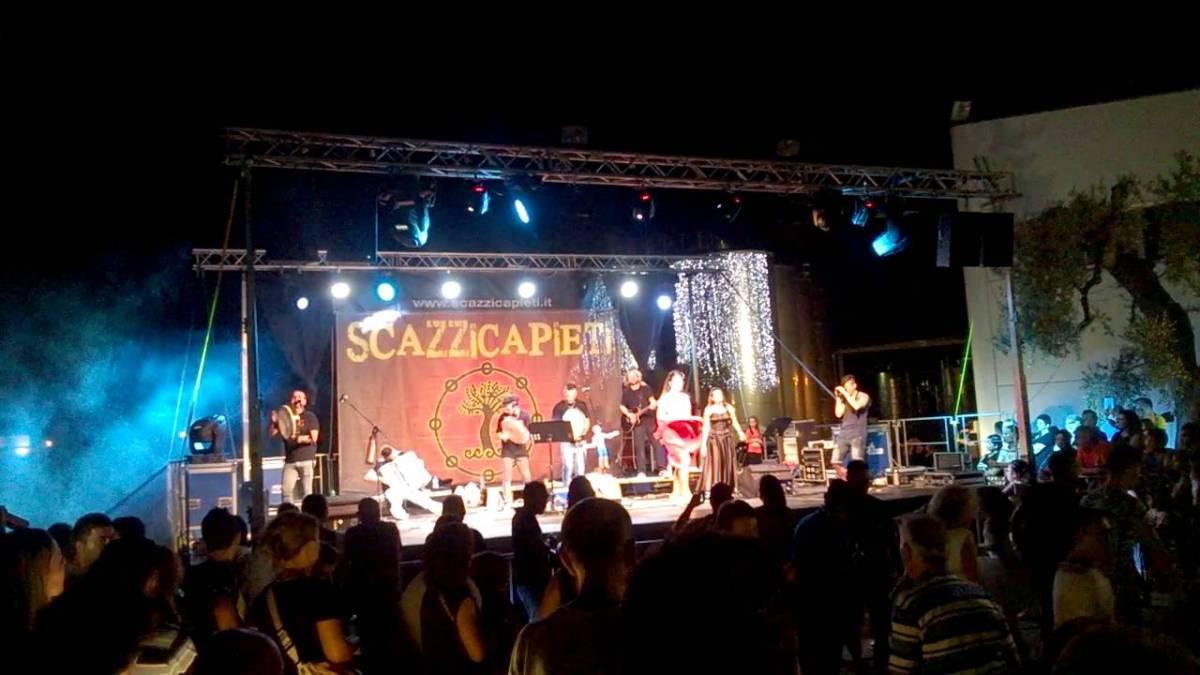 Scazzicapieti al Vecchia Torre Wine Festival 2016 di Leverano