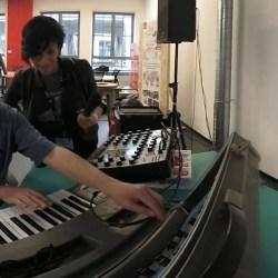 Moog Sonic Six & Synthi AKS EMS demo (YouTube)