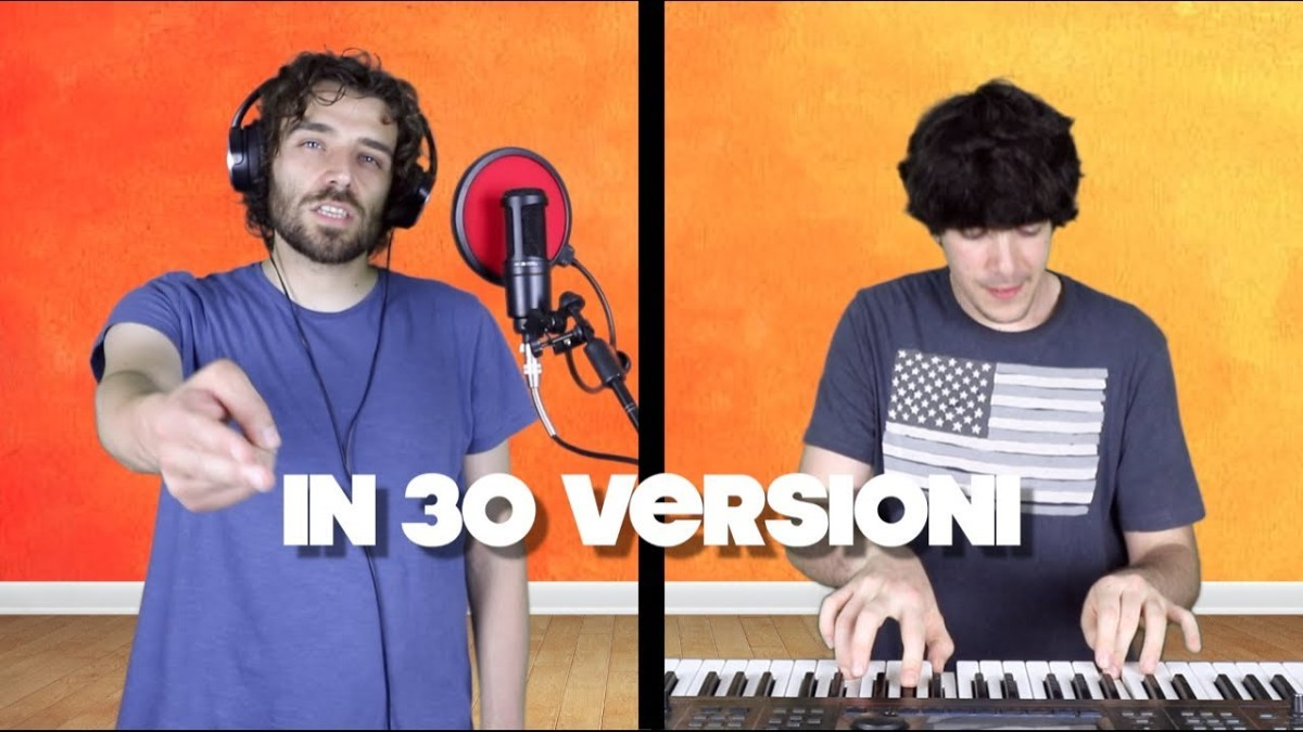 """ITALIANA"" in 30 VERSIONI! - i Masa (YouTube)"