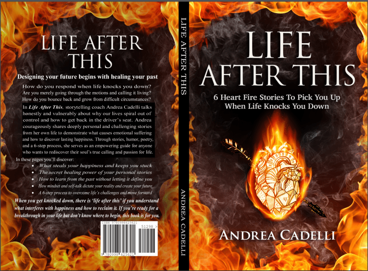 Life After This, by Andrea Cadelli, personal stories, anxiety and depression, finding happiness, personal growth, growing up catholic, coming out stories