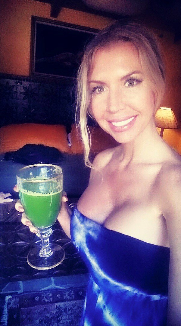 I did my own little detox right along with Kathy!
