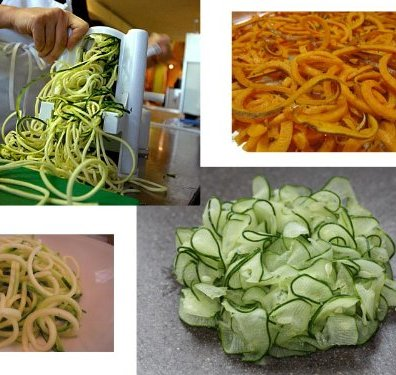 Spiralized vegetables