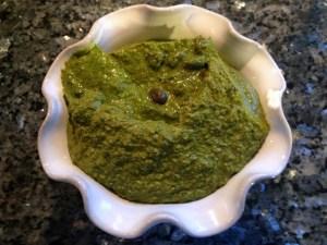 Herb blitz hummus