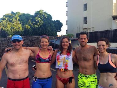 Andy, Riana, Annchen, Garron and me :-)