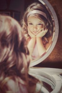 teach her that her reflection is beautiful from the inside out, every day, no matter what.
