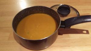 Quick and simple Carrot and Butternut squash soup