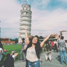 Leaning Tower of Pisa woohoo