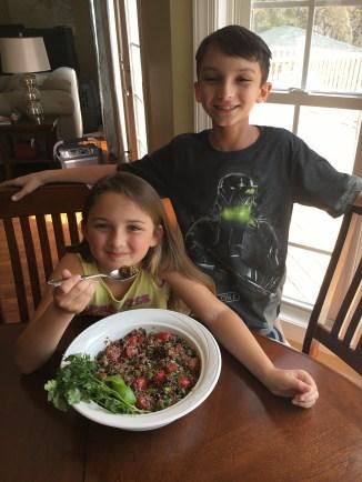 Test-kitchen helpers